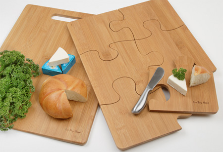 Puzzle Cutting Board