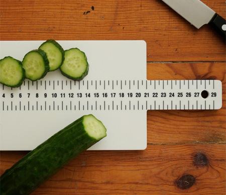 Ruler Cutting Board