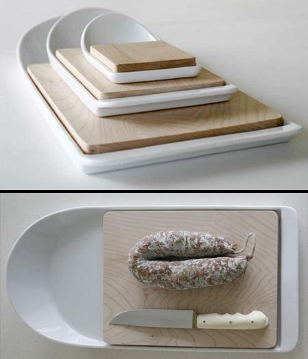 Cut and Paste Cutting Board