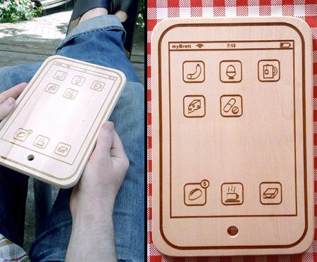 iPad Cutting Board