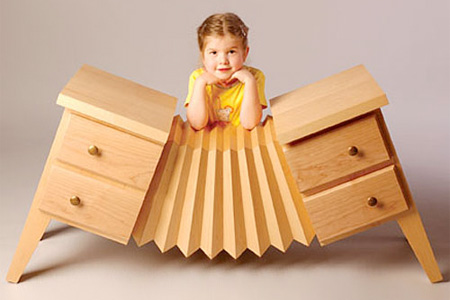 Accordion Dresser