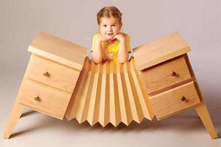 Accordion Dresser