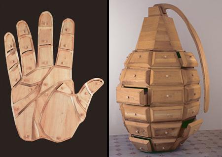 Hand Grenade Dressers