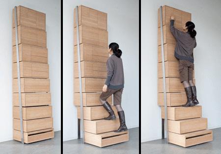 Staircase Dresser
