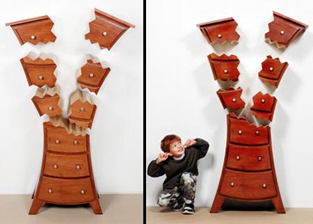 Exploded Dresser
