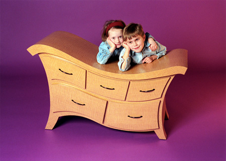 Wavy Dresser