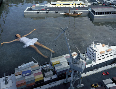 Floating in Harbour