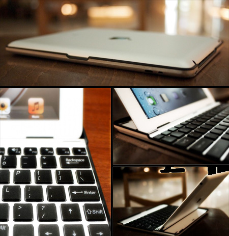 Keyboard iPad Case