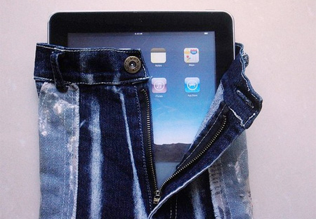 Jeans iPad Case