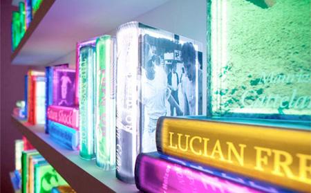 LED Bookshelf