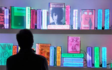 Lighting Bookshelf
