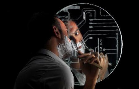 Circuit Board Mirror