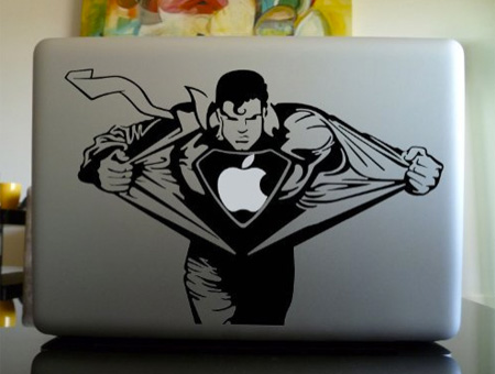 Superman MacBook Sticker