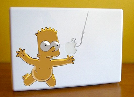 Bart MacBook Sticker