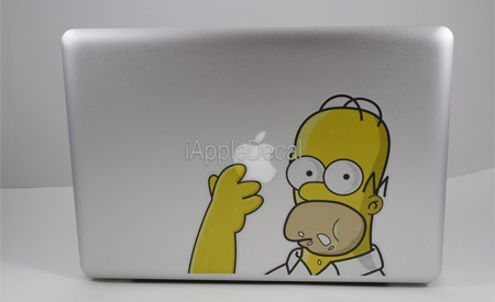 Homer MacBook Sticker
