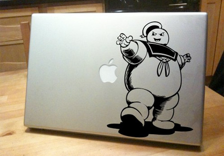 Ghostbusters MacBook Sticker