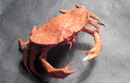 Crab Origami