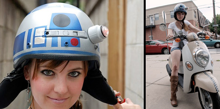 Star Wars Inspired R2-D2 Helmet