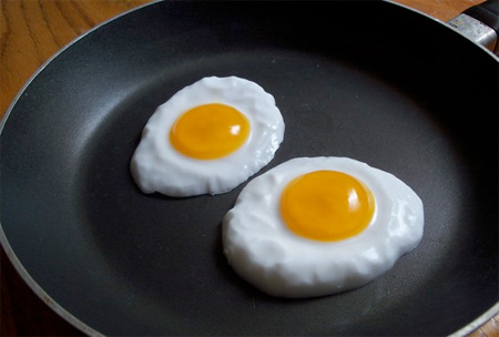 Fried Eggs Soap