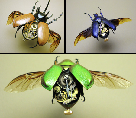 Steampunk Beetles