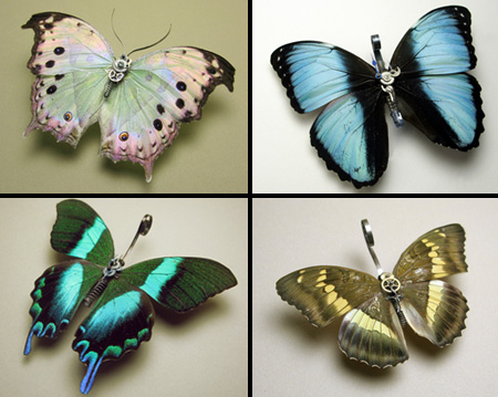 Steampunk Butterflies