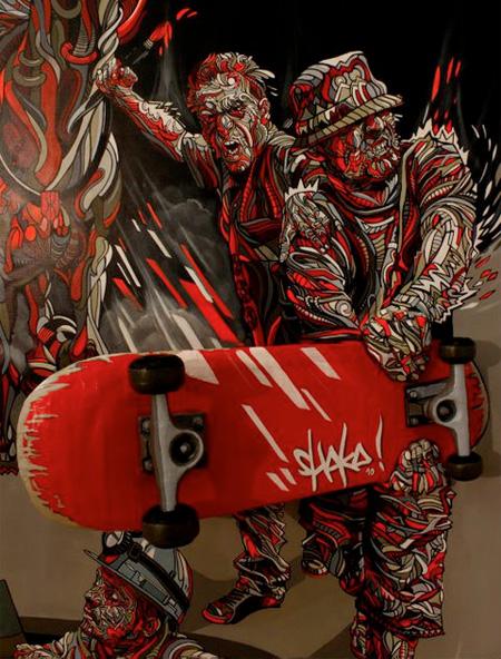 Shaka 3D Painting