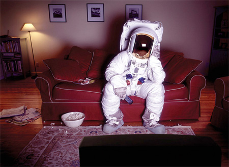 Astronaut at Home