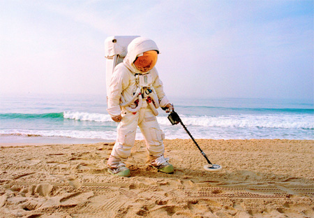 Astronaut at the Beach