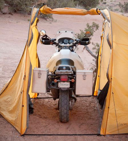 Motorcycle Tent