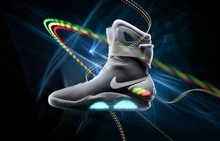 Back to the Future Nike Shoes