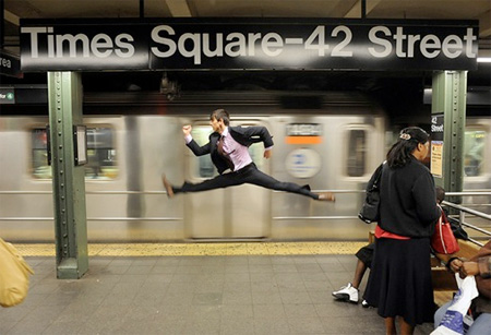Times Square Dancer