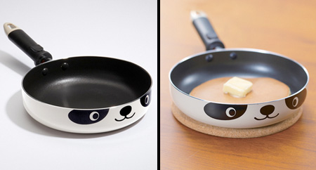 Panda Frying Pan