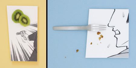 Manga Food Plates