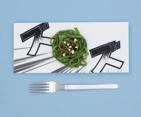 Manga Food Plate