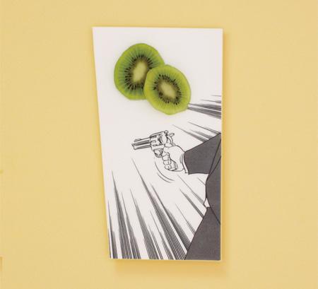 Manga Inspired Plate