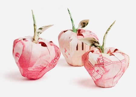 Apple Origami