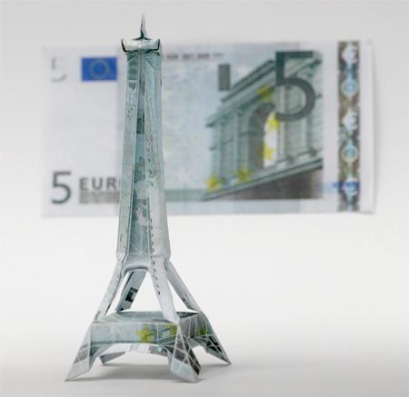 Eiffel Tower Origami