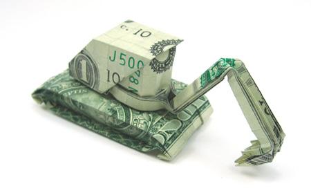 Construction Machine Origami