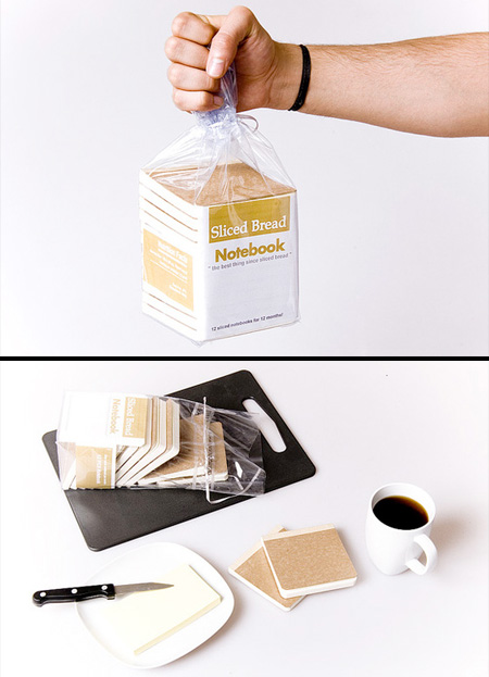 Sliced Bread Notebook