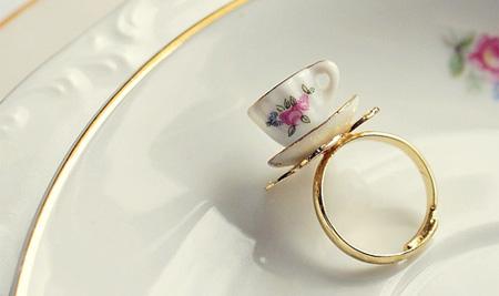 Teacup Ring