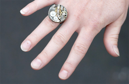 Watch Movement Ring