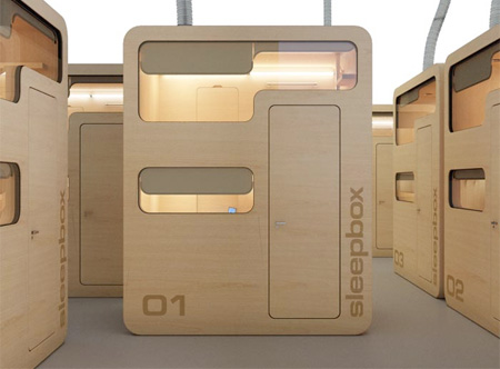 Arch Group Sleep Box