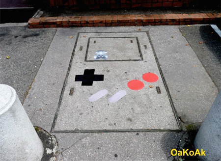 Game Boy Street Art