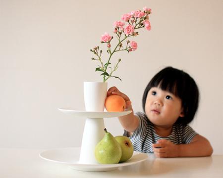 Plate Vase