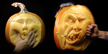 Amazing Pumpkin Sculptures