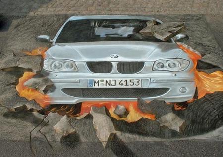 BMW Street Art
