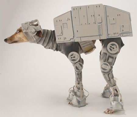 AT-AT Walker Dog Costume