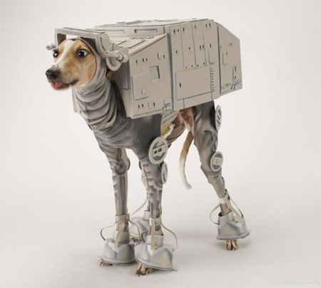 AT-AT Halloween Dog Costume