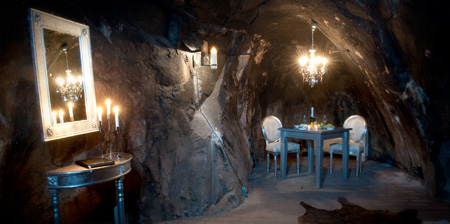 Underground Hotel Room