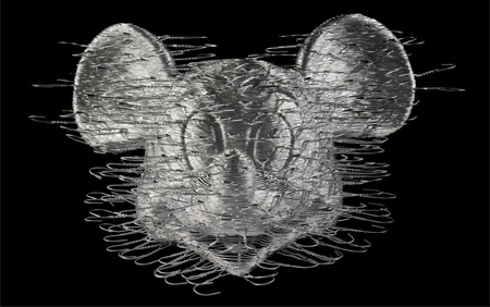 Coat Hanger Mickey Mouse